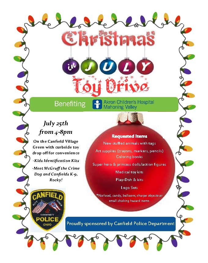 CPD-Christmas in July Flyer