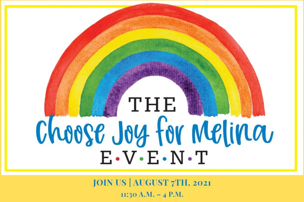 Choose Joy for Melina