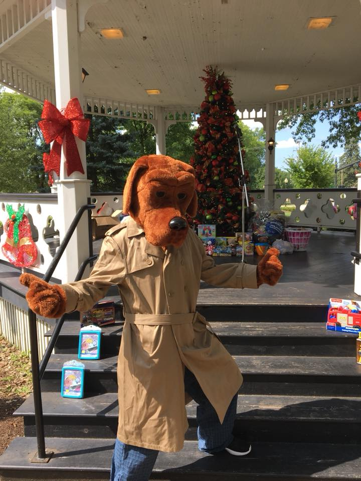 christmas in july mcgruff